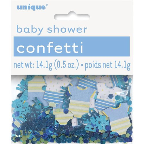 Konfetti, babyshower Boy