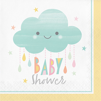 Sunshine baby shower isot lautasliinat