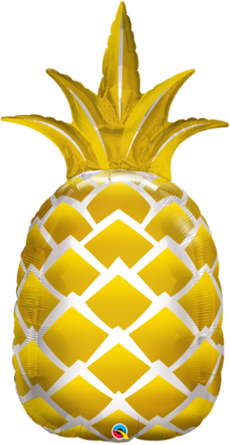 Muotofoliopallo, golden pineapple