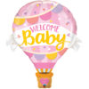 Muotofoliopallo, Welcome baby pink balloon