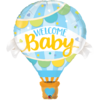 Muotofoliopallo, Welcome baby blue balloon