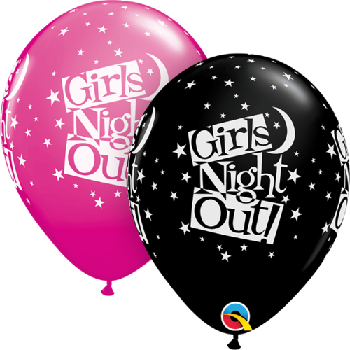 Gummiballong 25st, Girls night out