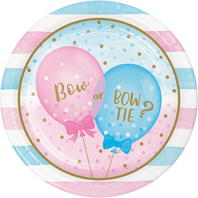 Gender Reveal stora tallrikar