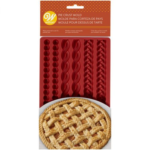 Wiltonin silikonimuotti, Pie crust