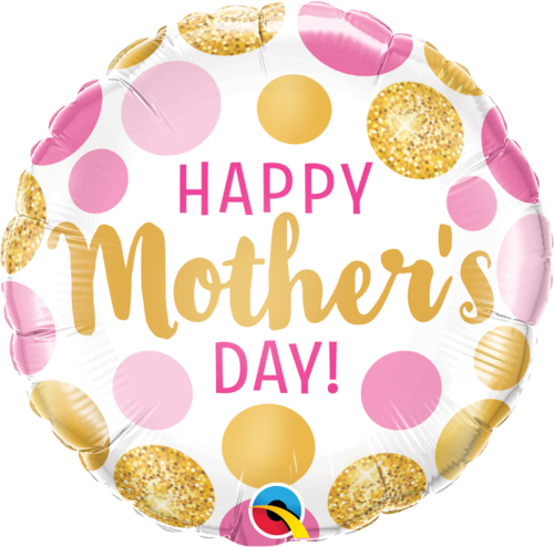 Folieballong, Happy Mother´s day prickig
